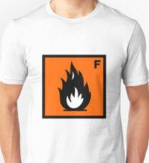 Flammable Symbol T-Shirt