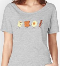 Let's All Go And Have Breakfast Women's Relaxed Fit T-Shirt