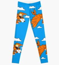 How to Train your Calvin and Hobbes Leggings