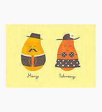 Fruit Genders Photographic Print