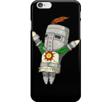 Solaire of Astora HD black edition iPhone Case/Skin