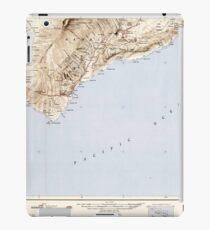 USGS TOPO Map Hawaii HI Hawaii South 349922 1954 250000 iPad Case/Skin