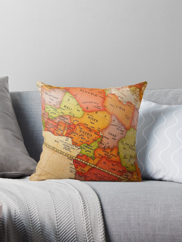 North Africa map by Gabrel