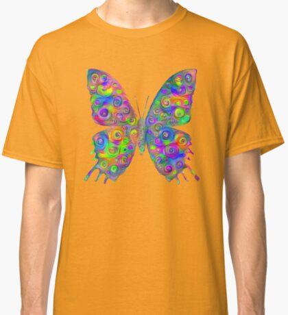 #DeepDream Motley Butterfly Classic T-Shirt