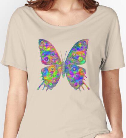 #DeepDream Motley Butterfly Relaxed Fit T-Shirt
