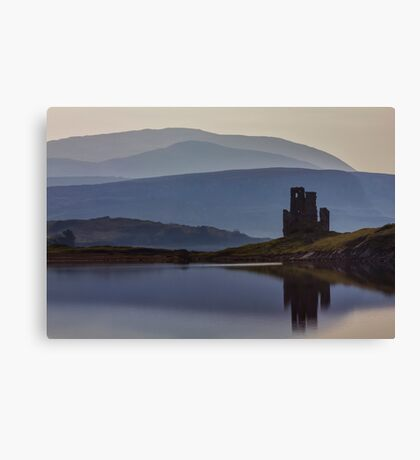 Ardvreck Castle and Loch Assynt Canvas Print