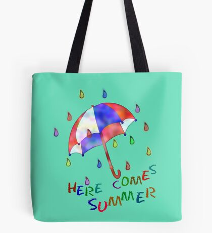 Jolly Brolly Summertime Tote Bag