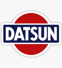 Old School Datsun Car Shirt, Sticker, Case, Skin, Poster, Mug Old School Classic Sticker