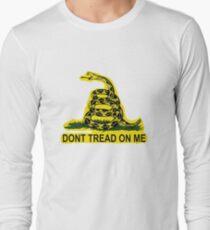 Don't Tread On Me Gadsden Flag American Flag  T-Shirt
