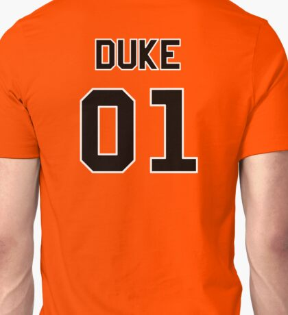 Dukes Of Hazzard 01 Orange T-shirt