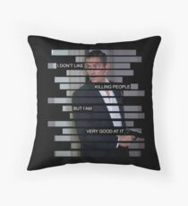 Reese - Person of interest - Quote Throw Pillow