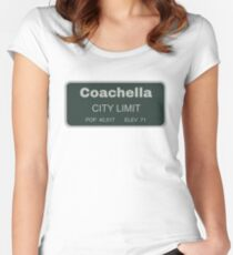 Coachella Women's Fitted Scoop T-Shirt
