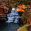 Sunrise at Bell Gorge  by Jan Fijolek