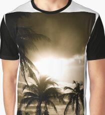 Island Wake Up (Sepia) Graphic T-Shirt