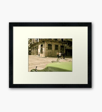 Here they come... Framed Print