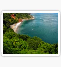 Oddicombe Beach, Torquay Sticker