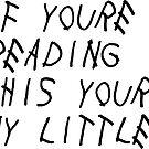 «Si estás leyendo esto (pequeño)» de adjsr