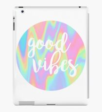 Good Vibes: Rainbow iPad Case/Skin