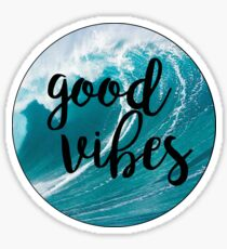 Good Vibes: Waves 2 Sticker