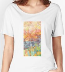 Stained glass. Women's Relaxed Fit T-Shirt
