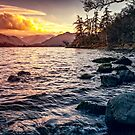 Ullswater Sunset by David Lewins