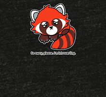 Red Panda - Go away - I'm Introverting Tri-blend T-Shirt