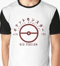 Pokemon Red Version Graphic T-Shirt