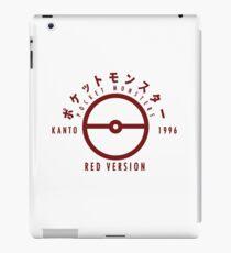 Pokemon Red Version iPad Case/Skin