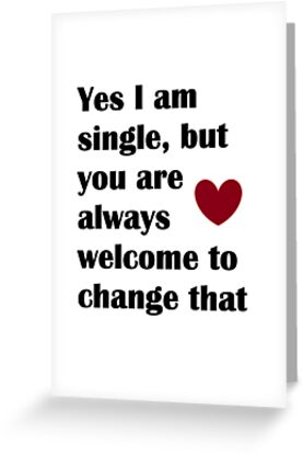 Change my status greeting cards by alant0905 redbubble change my status by alant0905 m4hsunfo Images