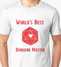 World's Best Dungeon Master Unisex T-Shirt