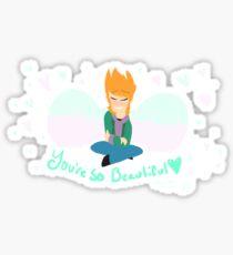 Angel Matt Sticker