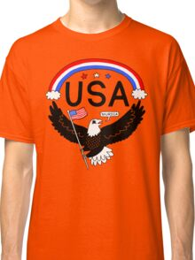 FOURTH OF JULY EAGLE Classic T-Shirt