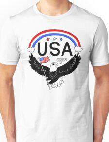 FOURTH OF JULY EAGLE Unisex T-Shirt
