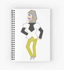 Sandy Fantasy Man Spiral Notebook