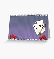 Dusky Aces Greeting Card