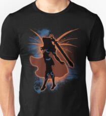 Super Smash Bros. Orange Female Corrin Silhouette Unisex T-Shirt