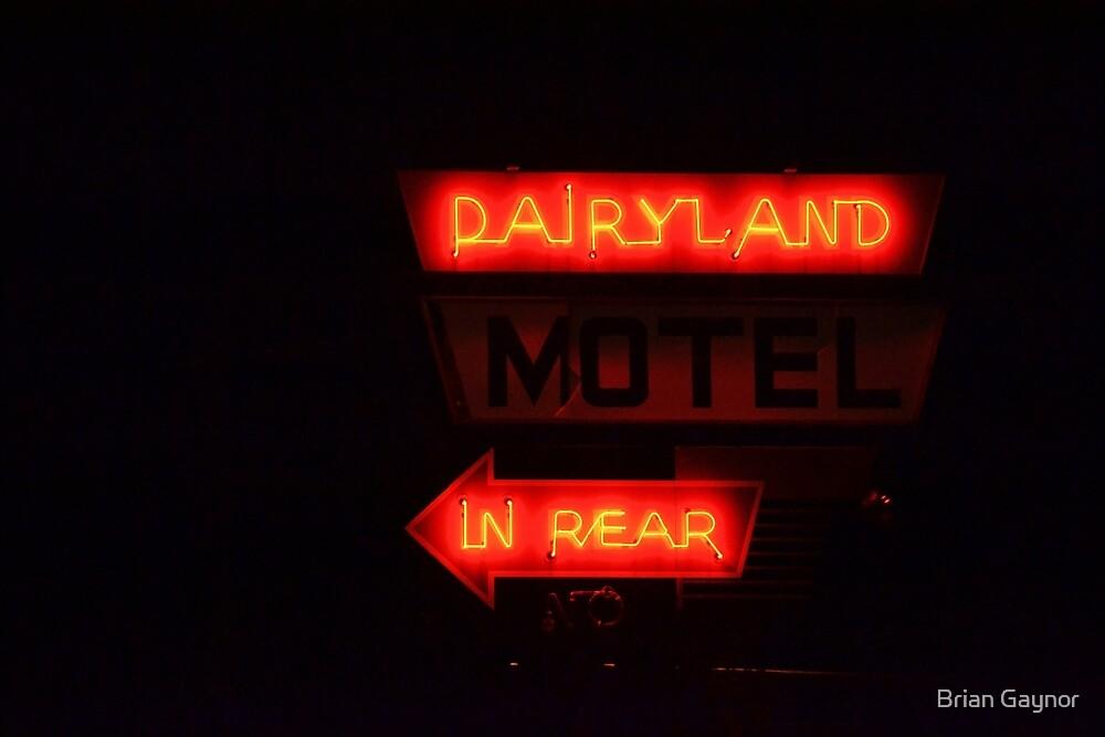 Dairlyland Motel by Brian Gaynor