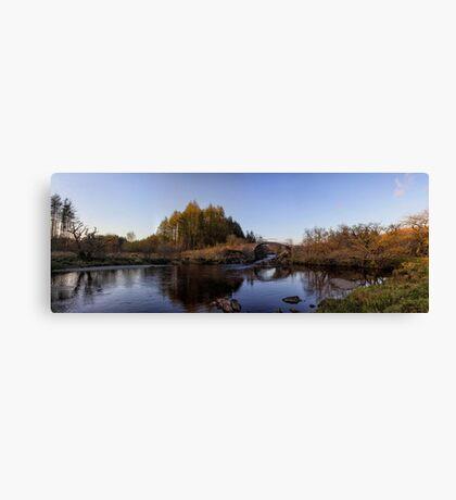 Roman Bridge on the River Minnoch Canvas Print
