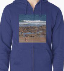 Beach Runner Zipped Hoodie