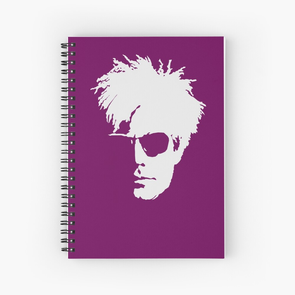 Andy Warhol Spiral Notebook