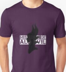 Mistress of all Evil Unisex T-Shirt