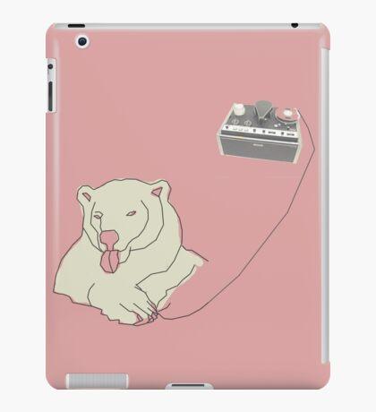 Tape Bear iPad Case/Skin