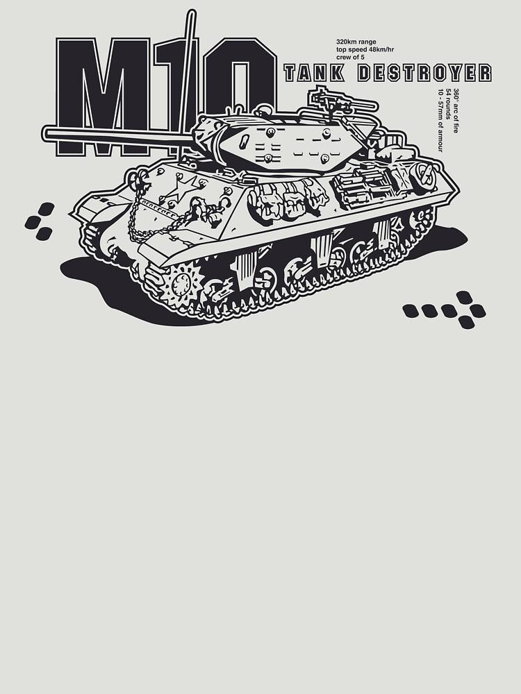 M10 Tank Destroyer by b24flak