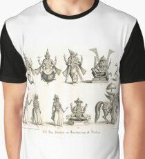 The 10 Avatars or Incarnations of Vishnu Graphic T-Shirt