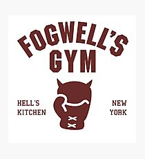 Fogwell's Gym Photographic Print