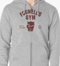 Fogwells Fitnessstudio Hoodie mit Reißverschluss