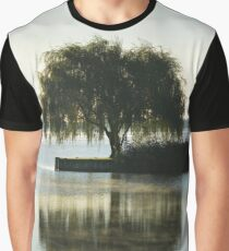 Salix Babylonica - Weeping Willow | Water Mill, New York Graphic T-Shirt