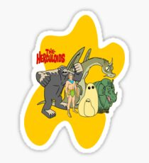 Classic Cartoons The Herculoids-  T-Shirt, Mugs, Bag and more Sticker