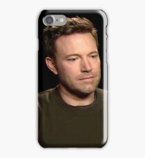 Sad Affleck iPhone Case/Skin