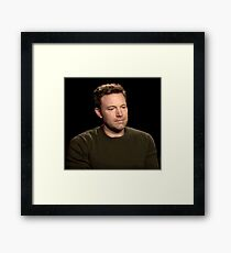 Sad Affleck Framed Print